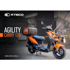NEW Kymco Carry 125 2019