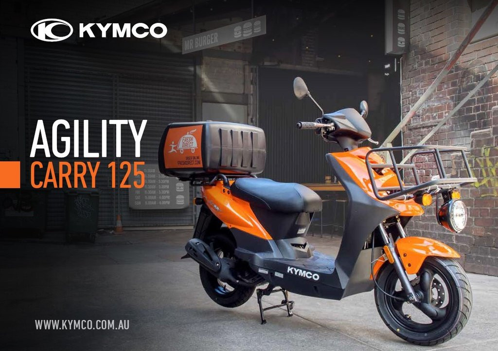 NEW Kymco Carry 125 - KYMCO - Scooters